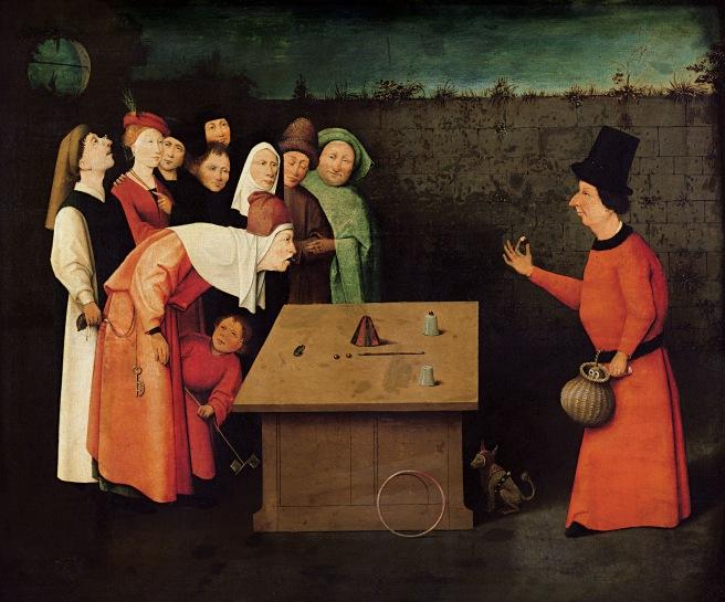 Hieronymus Bosch - The Conjurer, 1502.