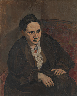 Gertrude Stein, 1905–6 Pablo Picasso (Spanish, 1881–1973) Oil on canvas
