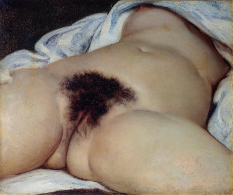 The Origin of the World by Gustave Courbet. Photograph: Leemage/Corbis