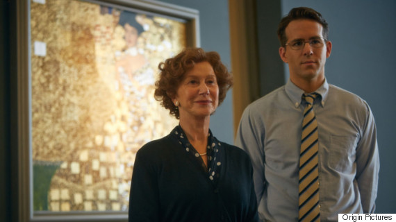 "Helen Mirren and Ryan Reynolds star in ""Woman in Gold"""