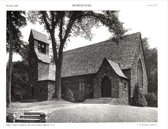 Union Church of Pocantico exterior Photo by Flickr user REVIVALthedigest | Copyright: Creative Commons
