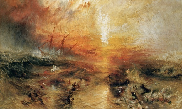 The Slave Ship by Joseph Mallord William Turner 1840. Photograph: Barney Burstein/Burstein Collection/CORBIS