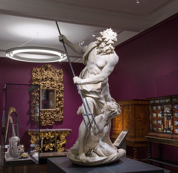 Bernini's Neptune and Triton. Photograph: Victoria and Albert Museum, London