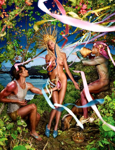 Trash and treasure ... David LaChapelle's Rebirth of Venus (2009). Photograph: David LaChappelle/Victoria and Albert Museum London